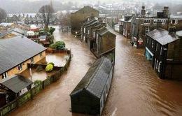 Anh ban bố cảnh báo lụt lội tại miền Bắc