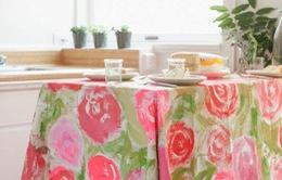 Làm điệu không gian nhà ở bằng họa tiết hoa