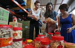 Ngân hàng thực phẩm từ thiện tại Singapore