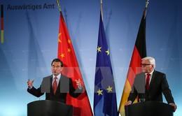 Đức - Trung Quốc nhất trí hợp tác giải quyết các xung đột quốc tế
