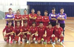ĐT futsal nữ Việt Nam thắng Malaysia 9-2 ở trận giao hữu đầu tiên