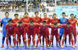 ĐT Futsal Việt Nam sang Nhật Bản tập huấn