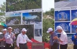 Lễ đặt viên gạch đầu tiên xây dựng khu tưởng niệm chiến sĩ Gạc Ma