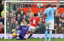 Xà ngang và Joe Hart ngăn cản Man Utd đánh bại kình địch Man City