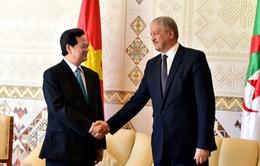 Thông cáo báo chí chung Việt Nam - Algeria