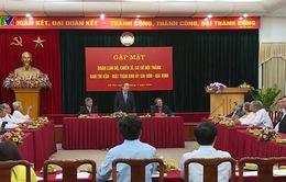 Đồng chí Nguyễn Thiện Nhân gặp mặt đoàn cựu cán bộ Ban Trí vận Khu ủy Sài Gòn