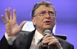 Tỷ phú Bill Gates khuyên sinh viên không nên bỏ học