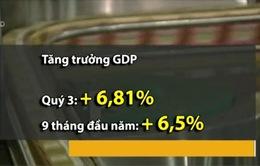 GDP 9 tháng đầu năm 2015 cao nhất trong 5 năm