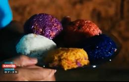 Xôi ngũ sắc - Món ăn truyền thống của dân tộc Thái