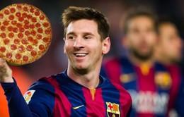 Messi sa sút phong độ vì ăn quá nhiều pizza
