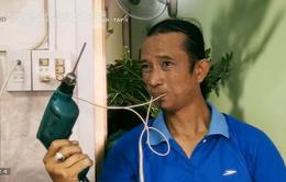Kỳ lạ người đàn ông có khả năng truyền dẫn điện