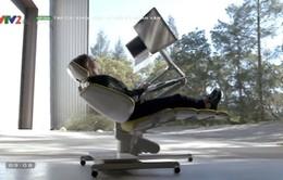 Sử dụng máy tính thoải mái hơn với bộ bàn ghế đa năng