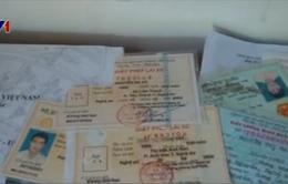 Bắt vụ làm giả con dấu, tài liệu với số lượng lớn ở TP Vinh