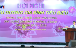 Tưng bừng khai mạc Ngày hội Gia đình Việt Nam 2015
