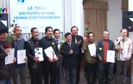 Giải thưởng Hội Nhạc sĩ Việt Nam 2014: Tôn vinh các tác phẩm quy mô lớn