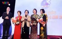 Trao Giải thưởng Kovalevskaia năm 2014