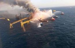 Mexico: Cháy giàn khoan dầu, gần 50 người thương vong