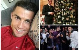 """Giáng sinh của sao thể thao: Ronaldo lẻ bóng, Arsenal """"quẩy"""" nhiệt tình"""