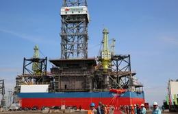 Hạ thủy giàn khoan dầu tự nâng Tam Đảo 05