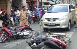 Tháng 1/2015, tai nạn giao thông giảm ở cả 3 tiêu chí