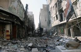 Quân đội Syria siết chặt vòng vây phe nổi dậy gần biên giới Lebanon
