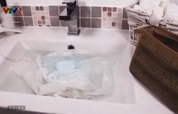 Dolfi – Thiết bị giặt quần áo bằng sóng siêu âm