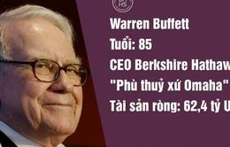Mark Zuckerberg lọt top những người giàu nhất thế giới