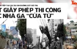 UBND TP Hà Nội rút giấy phép các công trình thi công ẩu