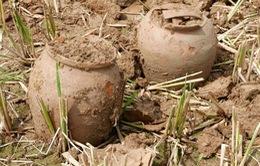 Phát hiện hàng trăm cổ vật tại Thành nhà Hồ