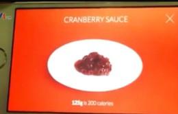 Ứng dụng đo lượng calorie trong thực phẩm qua... ảnh