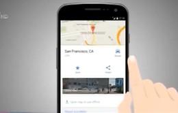 Google Maps hoạt động không cần Internet