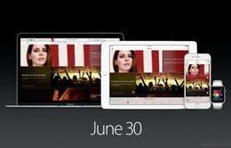iOS 8.4 và Apple Music chính thức ra mắt tối nay