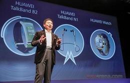 MWC 2015: Huawei trình làng một loạt thiết bị đeo thông minh mới