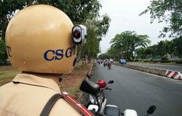 Hiệu quả từ thiết bị gắn trên mũ Cảnh sát giao thông