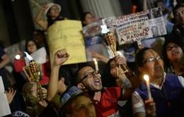 Người dân Guatemala biểu tình đòi Tổng thống từ chức