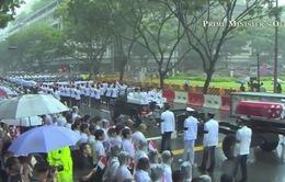 Singapore cử hành tang lễ cựu Thủ tướng Lý Quang Diệu
