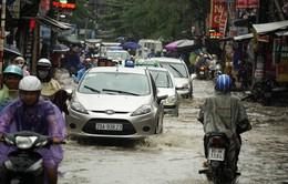 Hà Nội: Các tuyến phố bị ngập đã rút hết nước
