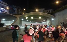 Hàng ngàn lái xe vi phạm tốc độ trong đường hầm vượt sông Sài Gòn