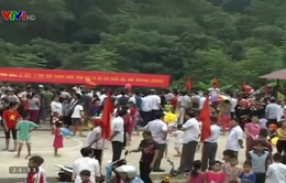 Người dân Bắc Mê, Hà Giang nô nức đón Tết độc lập