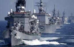 Hải quân Nhật Bản biểu dương lực lượng