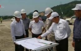 Kiểm tra tiến độ dự án hầm đường bộ Đèo Cả