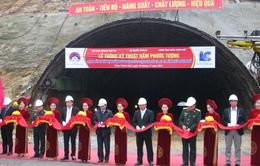 Thừa Thiên - Huế: Thông kỹ thuật hầm đường bộ Phước Tượng - Phú Gia
