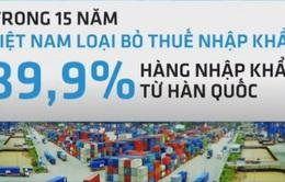 FTA Việt Nam - Hàn Quốc chính thức có hiệu lực
