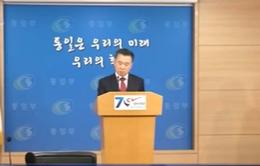 Hàn Quốc đề xuất đàm phán dỡ bỏ trừng phạt với Triều Tiên