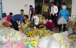 Bình Dương thu giữ 4.500 bịch bột ngọt giả làm quà Tết cho công nhân