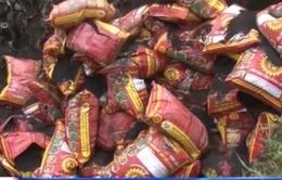 Hàng nhái, hàng giả tràn lan tại thị trường nông thôn