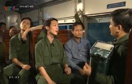 """""""Hành trình thống nhất"""": Không gian đặc biệt trên chuyến tàu Bắc - Nam"""