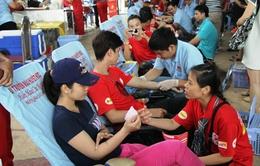 Hành trình đỏ 2015 đã tiếp nhận 13.000 đơn vị máu
