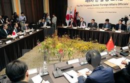 Hội đàm Thứ trưởng Ngoại giao 3 nước Đông Bắc Á