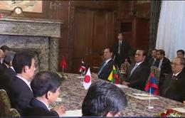 Chủ tịch Hạ viện Nhật Bản tiếp các nhà lãnh đạo Mekong